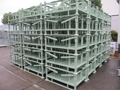 大丸製作所 短納期 専用パレット 折りたたみ式 建機部品専用容器