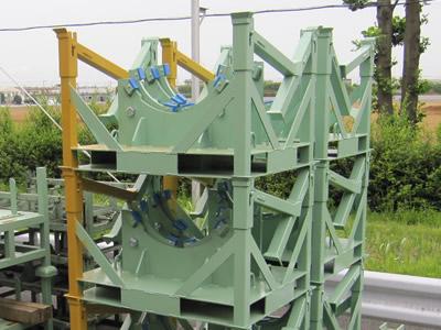 大丸製作所 短納期 専用パレット 回転構造付き 建機油圧機器専用パレット
