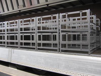 大丸製作所 短納期 専用パレット 油圧機器専用容器 窯入れ・耐熱仕様