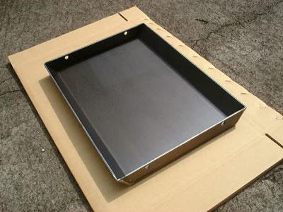 大丸製作所 オーダー極厚バーベキュー鉄板 平型