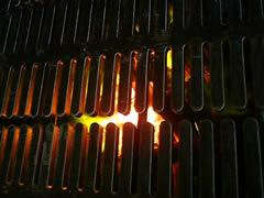 溝穴つき焼肉鉄板 イメージ図3